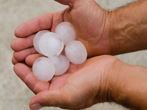 hail damage repair in Austin